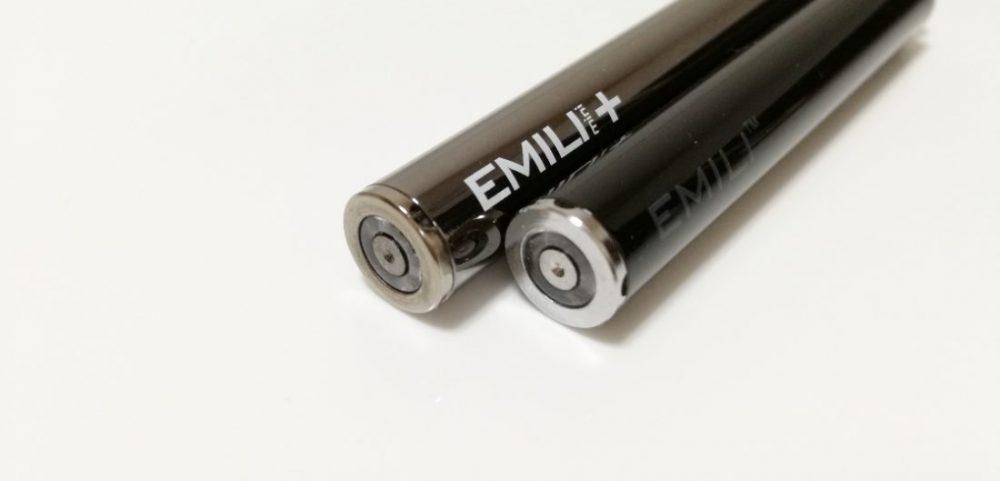 エミリミニプラスとエミリライトの本体サイズ