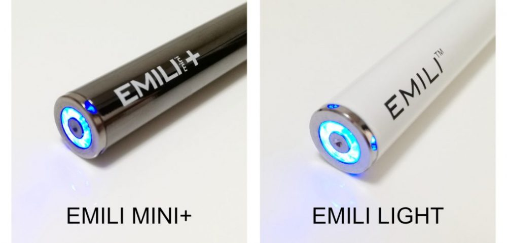 エミリミニプラスとエミリライトのLEDライトの比較