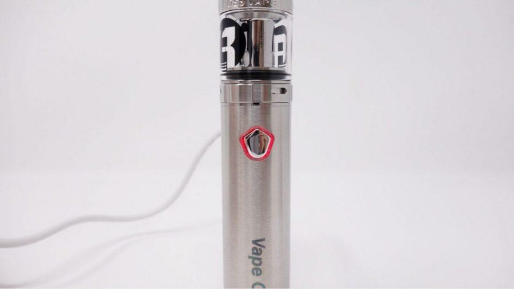 vapeoneⅡを充電中
